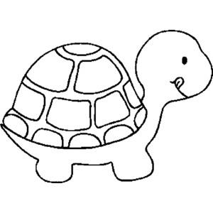 Hawaiian Turtle Clip Art Black And White.