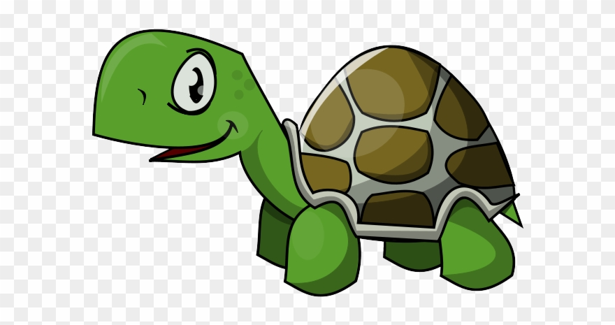 Cartoon Sea Turtle Clipart.