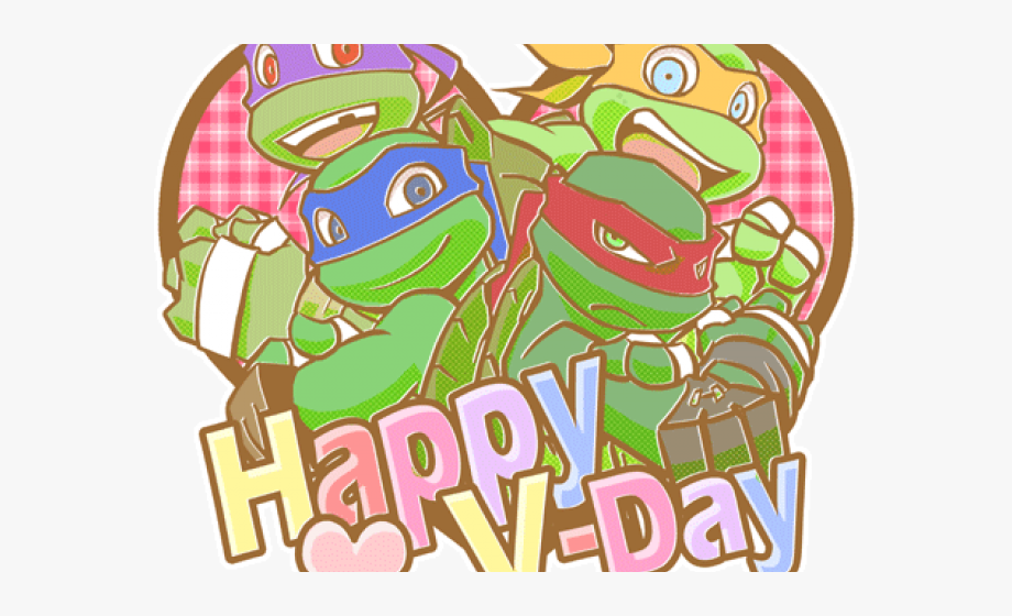 Ninja Turtles Clipart Valentine.