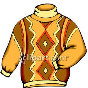 Man\'s Turtleneck Sweater.
