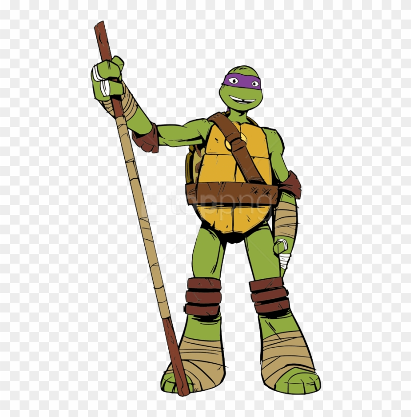 Free Png Download Ninja Tutle Donatello Clipart Png.