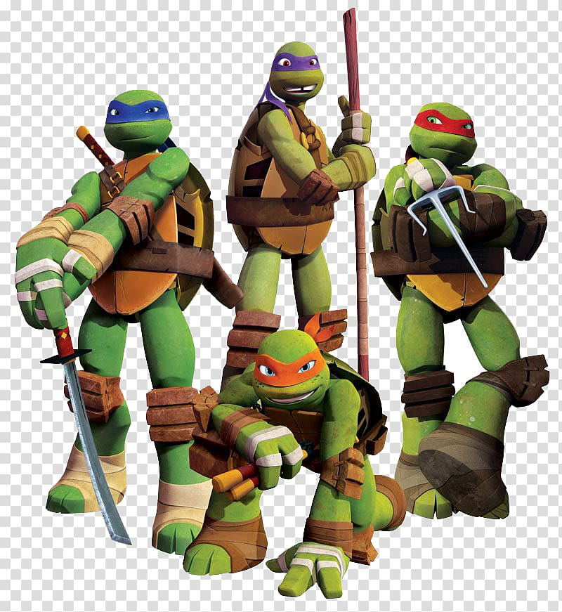 TMNT characters illustration, Leonardo Michelangelo.