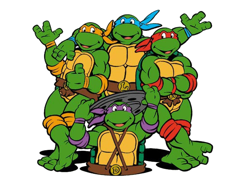 Teenage Mutant Ninja Turtles Free PNG Image.