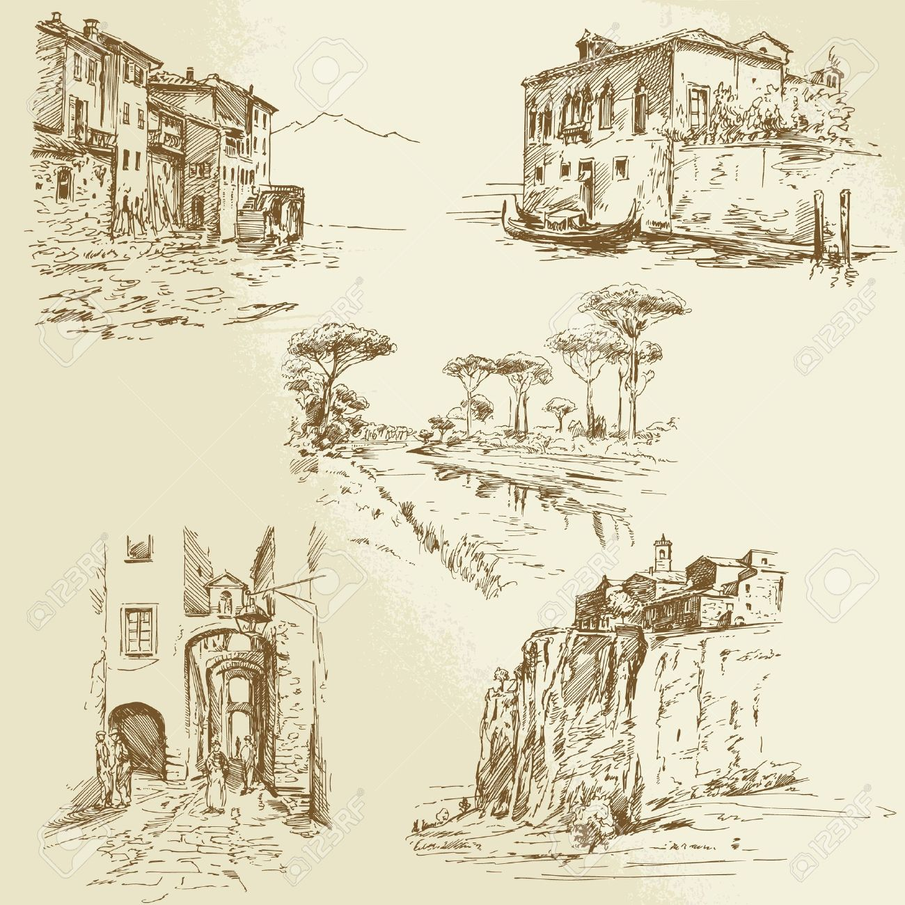 371 Tuscan Stock Illustrations, Cliparts And Royalty Free Tuscan.