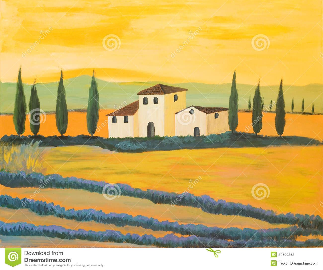 Tuscan Stock Illustrations.