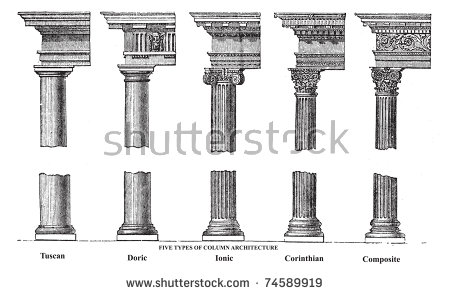 Classical Columns Stock Photos, Royalty.