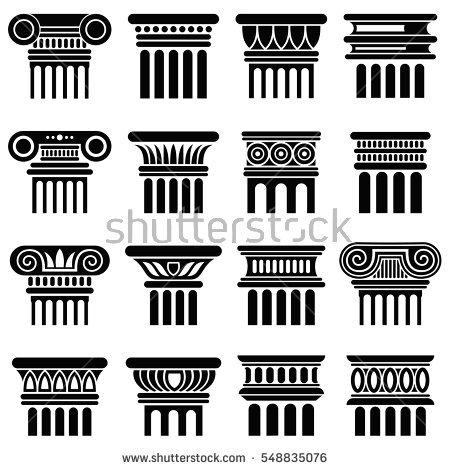 Column Vector Stock Photos, Royalty.