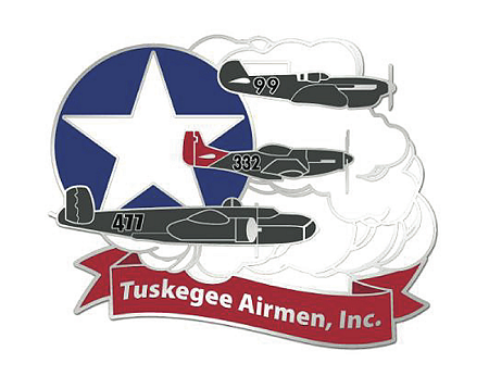 Tuskegee Airmen Custom Lapel Pin.
