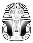 Tutankhamen Clip Art.