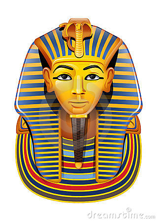 Tutankhamun Stock Illustrations.