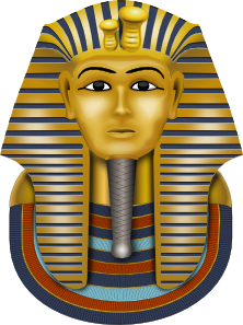 Golden Mask King Tut Clip Art at Clker.com.