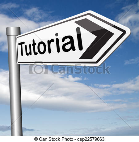 Stock Illustration of tutorial internet lessons learn online by.