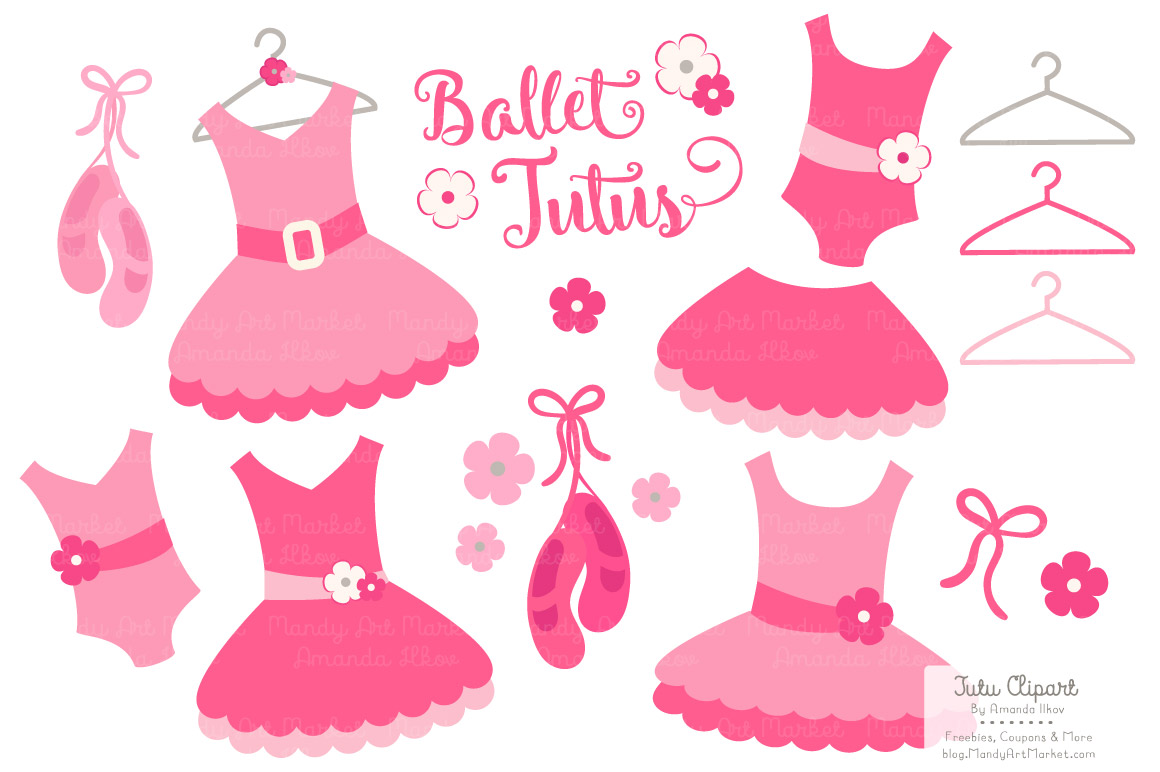 Gallery For > Ballerina Pink Tutu Clipart.