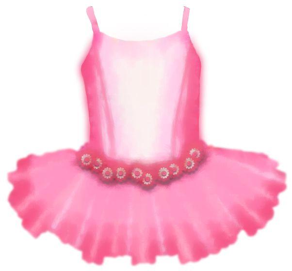 Pink Ballet Slippers Clip Art.