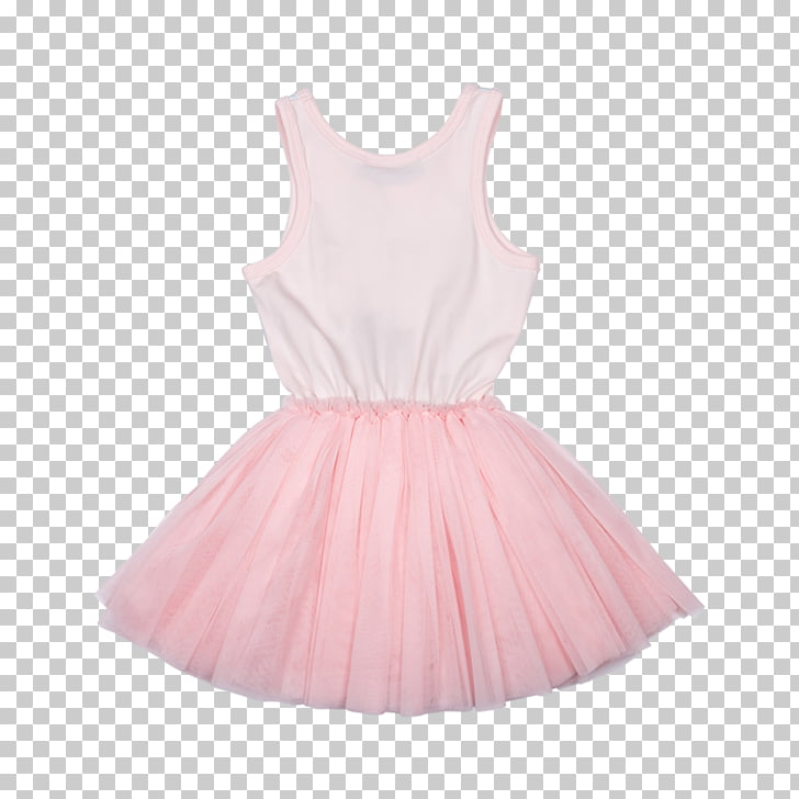 Tutu Dress Skirt Pink Flower girl, dress PNG clipart.