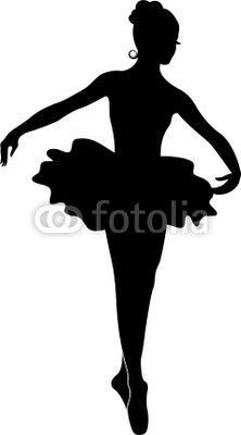ballerina silhouette free.