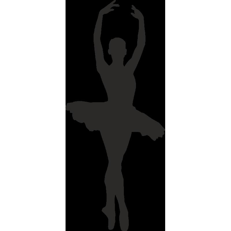 Ballet Dancer Silhouette Clip art.