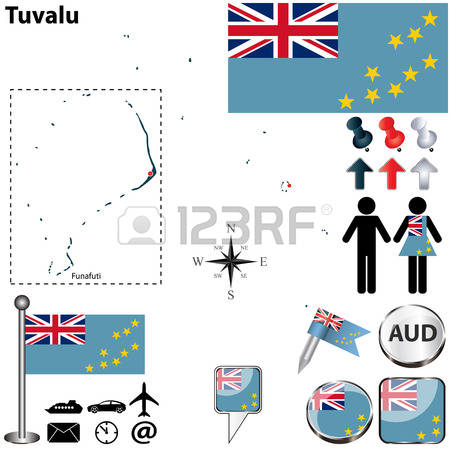 106 Map Of Tuvalu Stock Vector Illustration And Royalty Free Map.