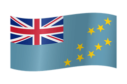 Tuvalu flag clipart.