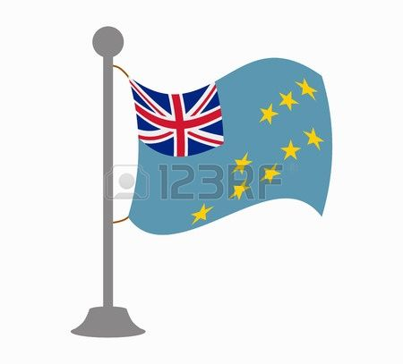 Tuvalu Flag Stock Vector Illustration And Royalty Free Tuvalu Flag.