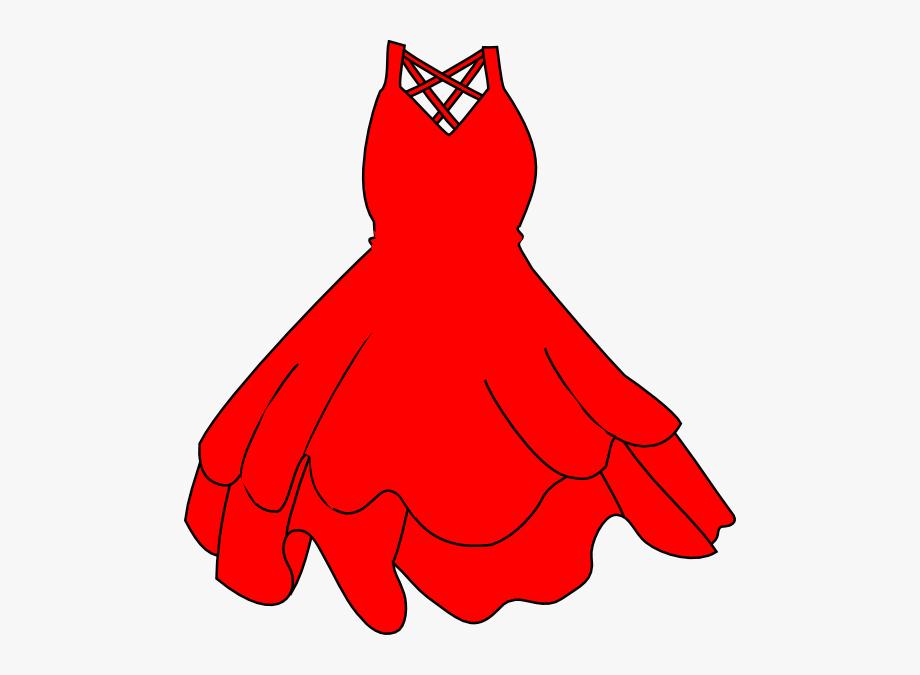 Red Dress Clip Art At Clkercom Vector Online Royalty.