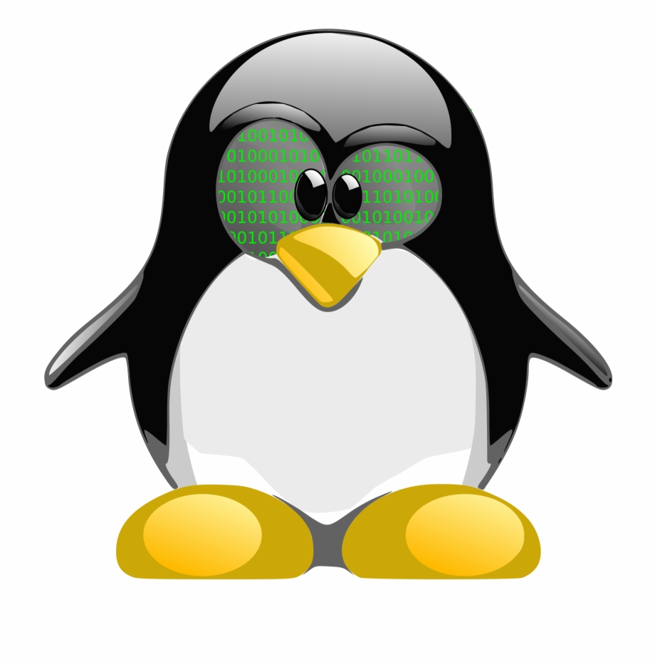 This Free Icons Png Design Of Tux Nerd 1.