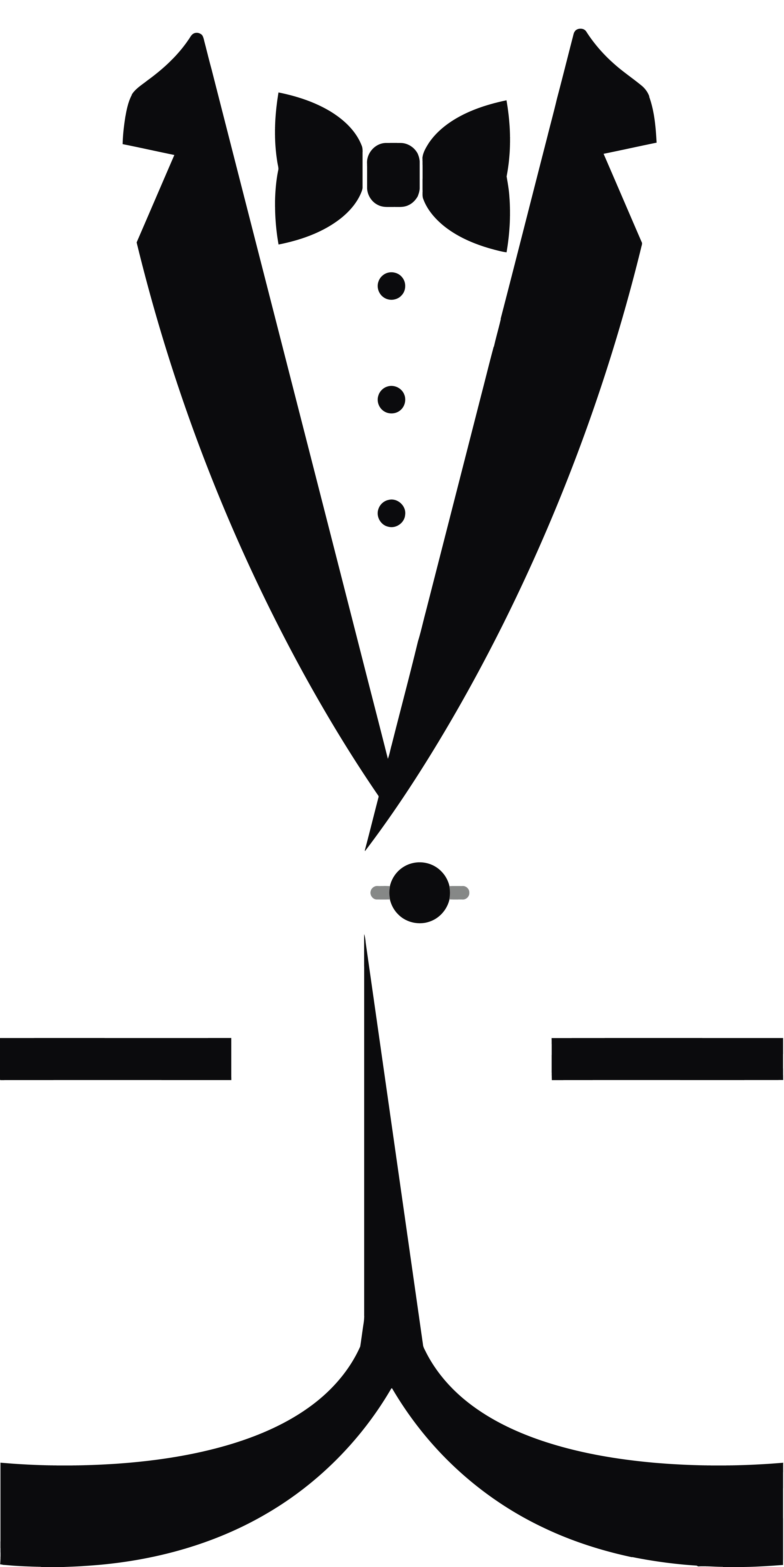 tuxedo bow tie clipart clipground