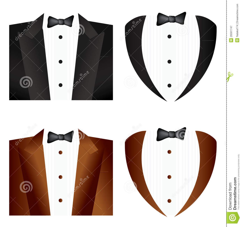 Tuxedo Tie Clipart.