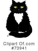 Tuxedo Cat Clipart #1.