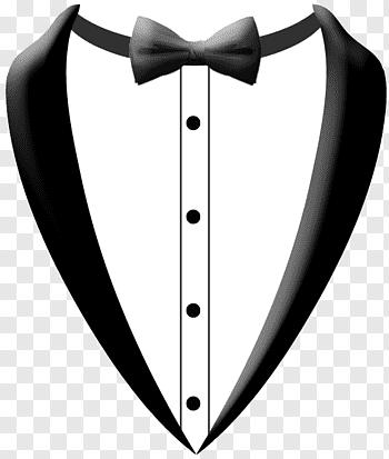 Tuxedo cutout PNG & clipart images.