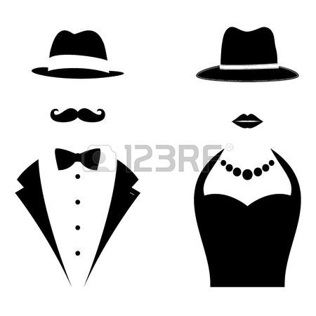 Tuxedo Silhouette at GetDrawings.com.
