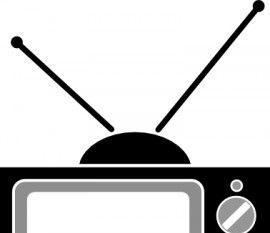 Television Antenna clip art.