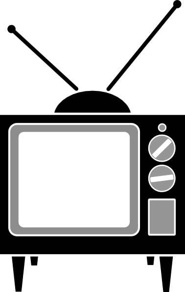 Television Antenna clip art Free vector in Open office drawing svg.