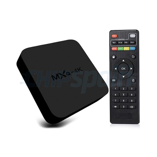 TV Box MXQ 4K RK3229 Android 4.4 8GB ROM Quad Core 1.5GHz.