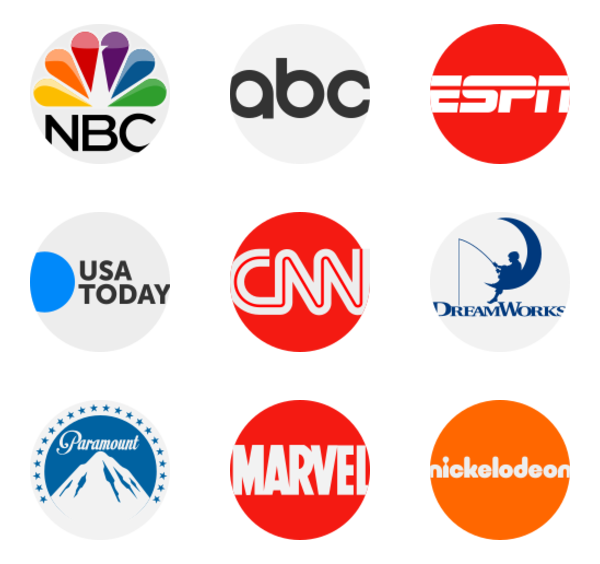 Channels Icons.
