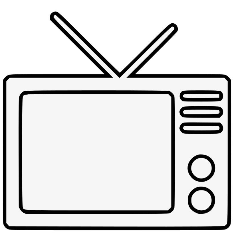 Tv Television Transparent Background Clipart Png.