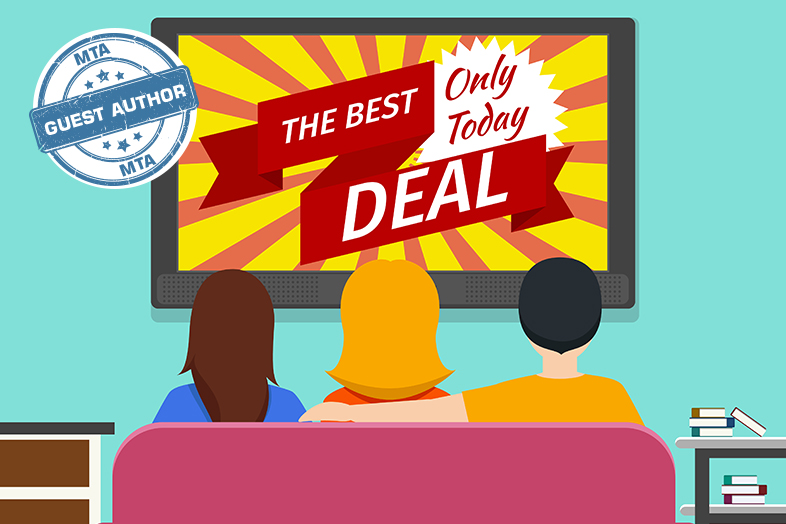 Download tv commercial clipart Television advertisement.