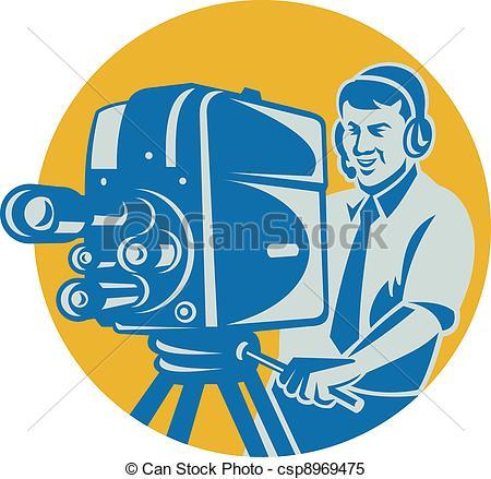 Film crew Clip Art and Stock Illustrations. 263 Film crew EPS.