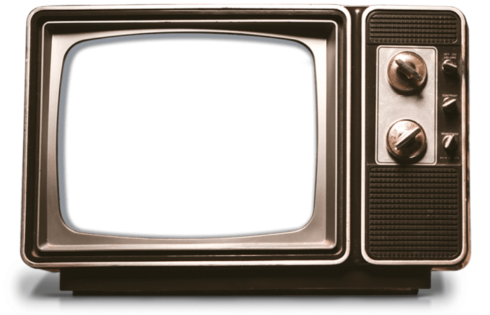 Old Tv Frame Png Vector, Clipart, PSD.