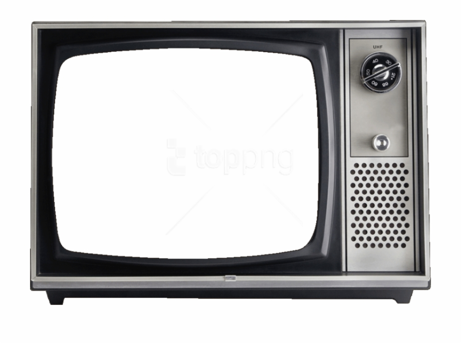 Old Tv Frame Png.
