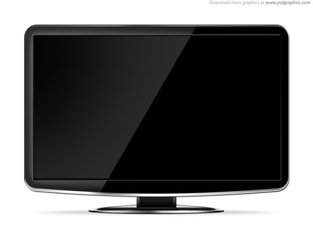 LCD HD TV template Clipart Picture Free Download.