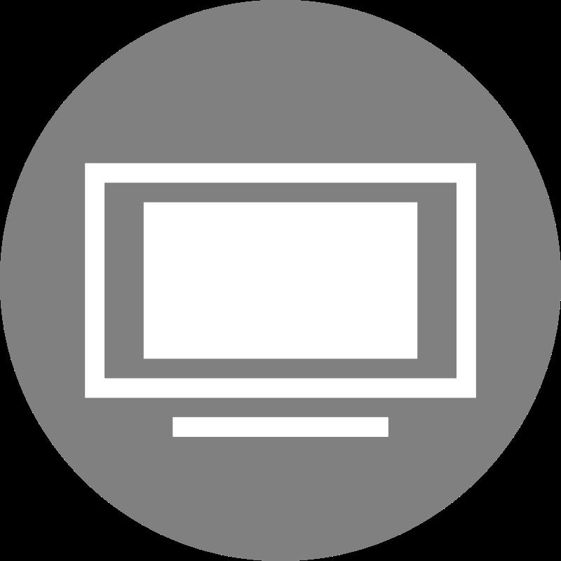 Free Clipart: TV Icon.
