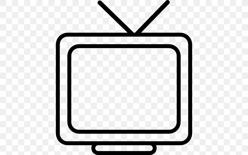 Television Black And White Clip Art, PNG, 512x512px.