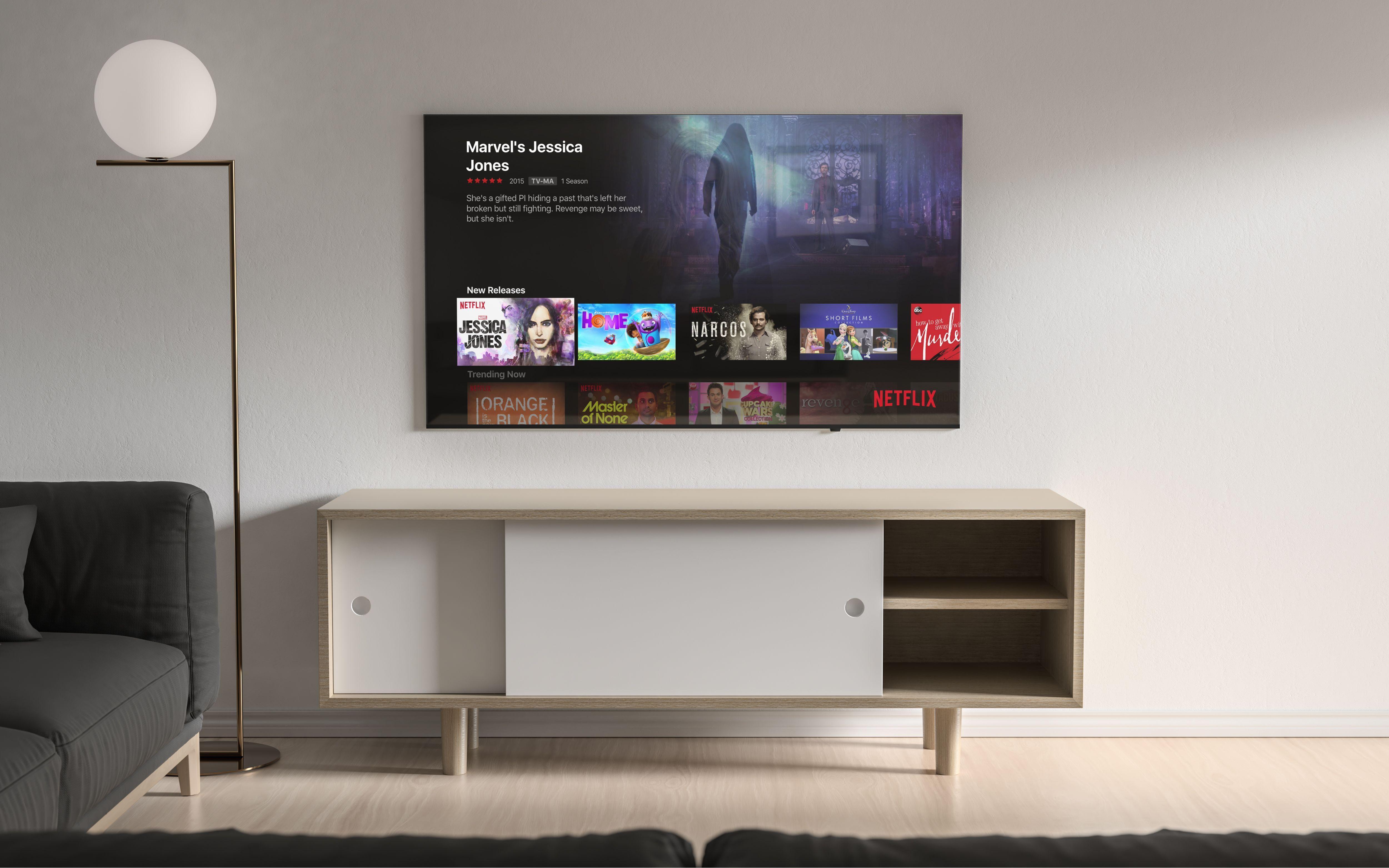 Modern TV Mockup.