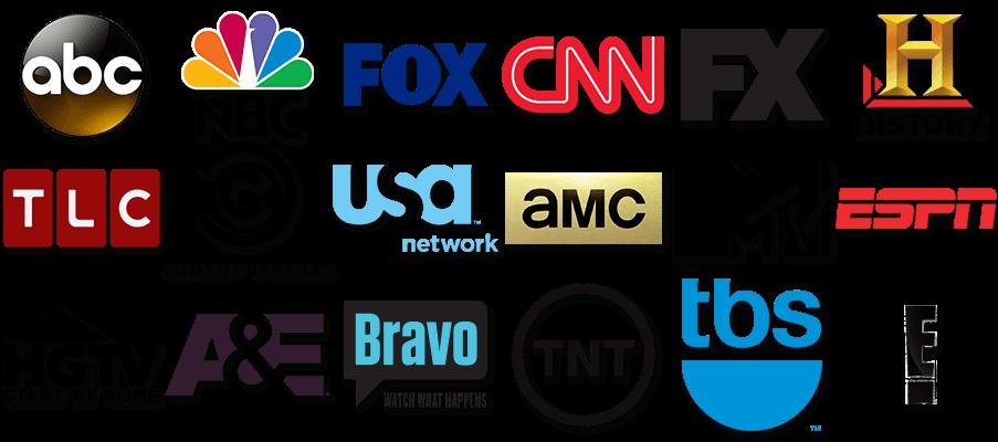 Network Logos.