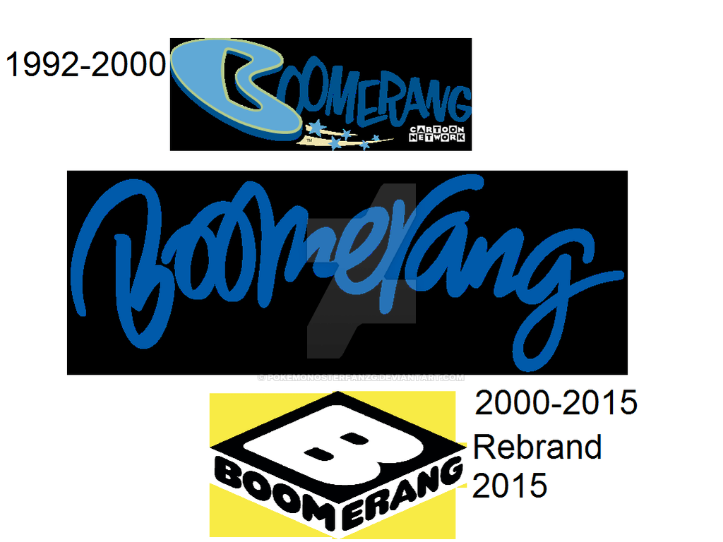Boomerang TV Channel Logo.