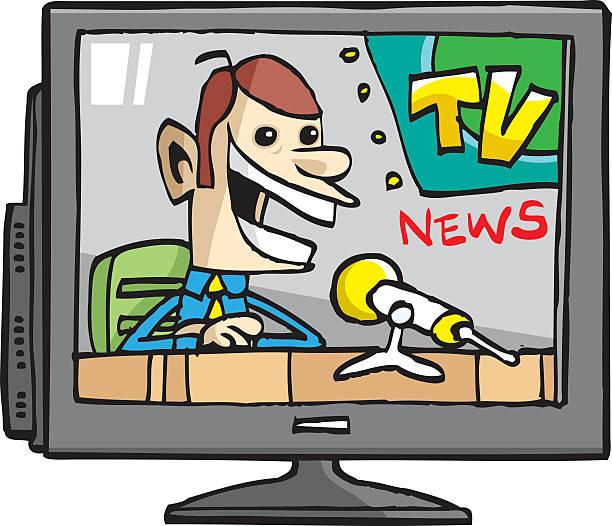 Tv Clipart news 11.