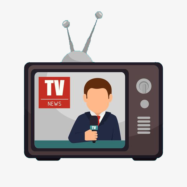 Tv news clipart 7 » Clipart Station.