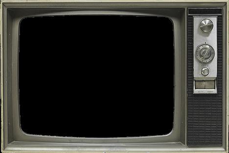 Television Empty Vintage transparent PNG.
