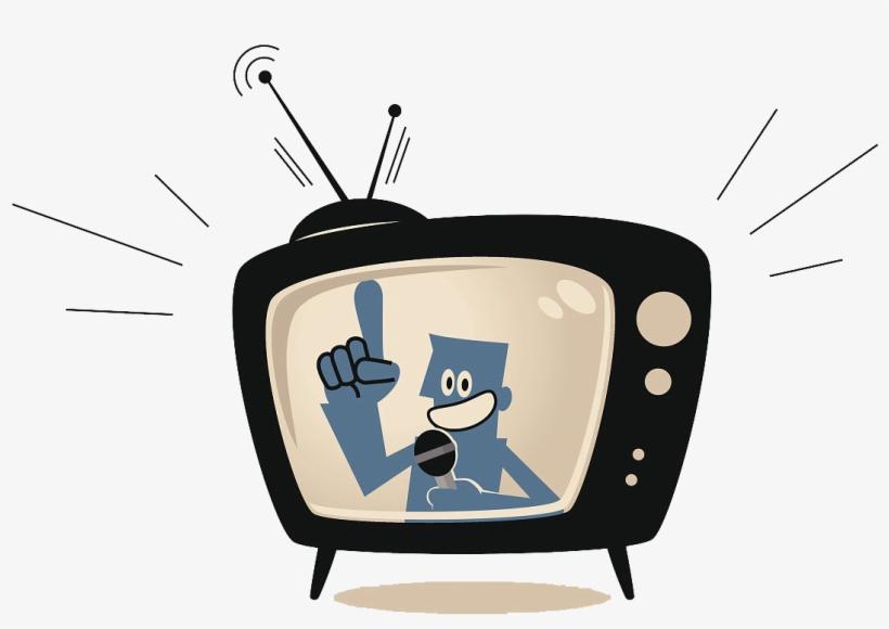 Tv Shows Clipart Tv Presenter.
